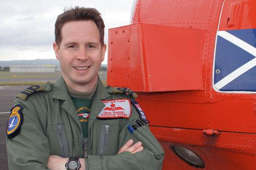 Craig Sweeney - Royal Navy Pilot Gets Air Force Cross For Rescuing Lost Hiker