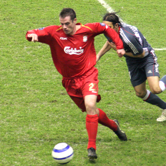 Jamie Carragher - A working class footballing hero